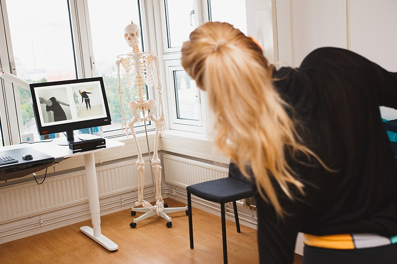Naprapat, behandlingar, 3D test, rörelseanalys